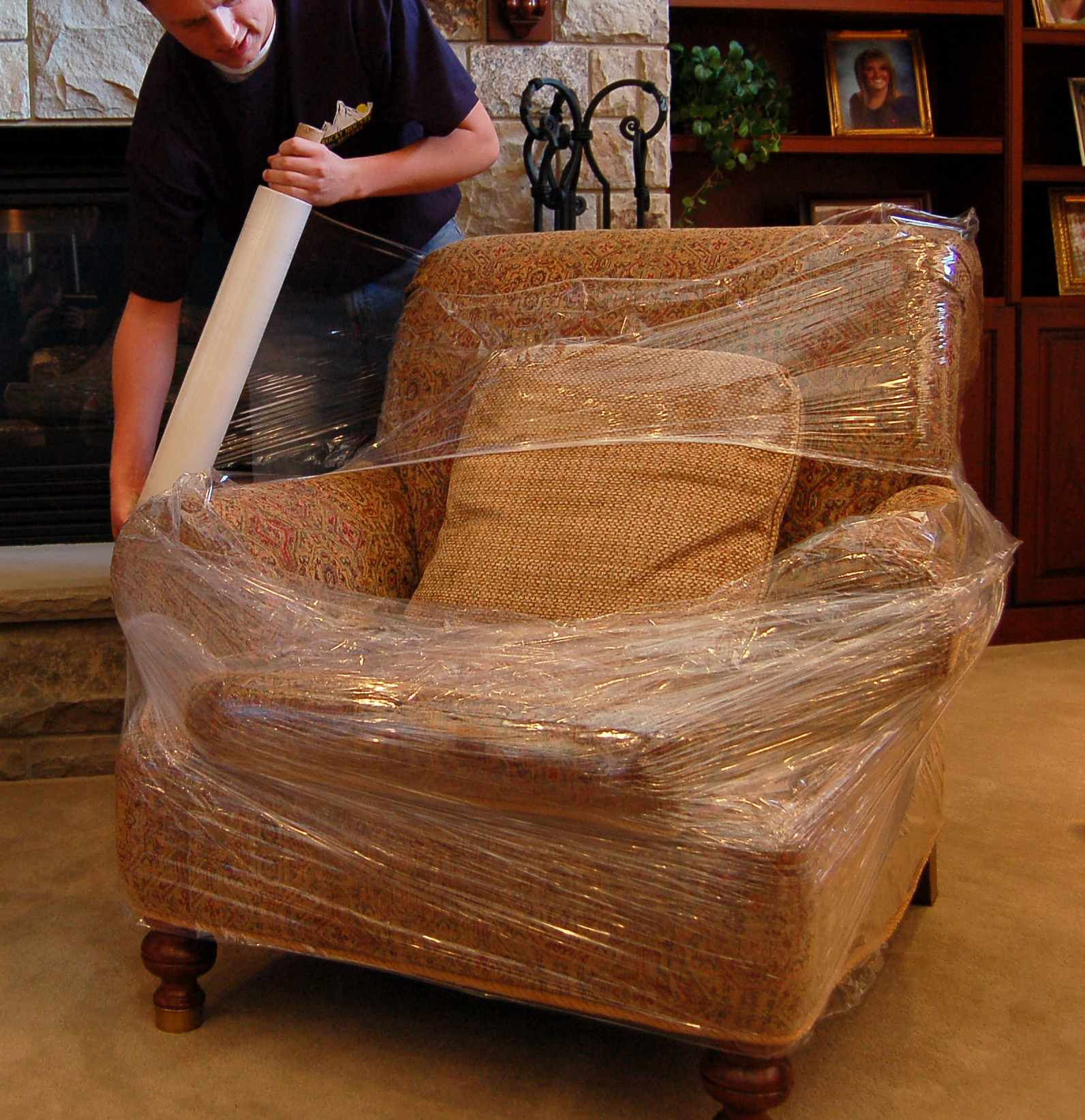 Always Use Shrink Wrap When Moving Rocky Mountain Movers
